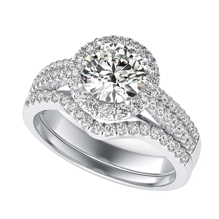 rose wedding ring engagement want with i gold bands but s band rings the perfect two cushion pin halo