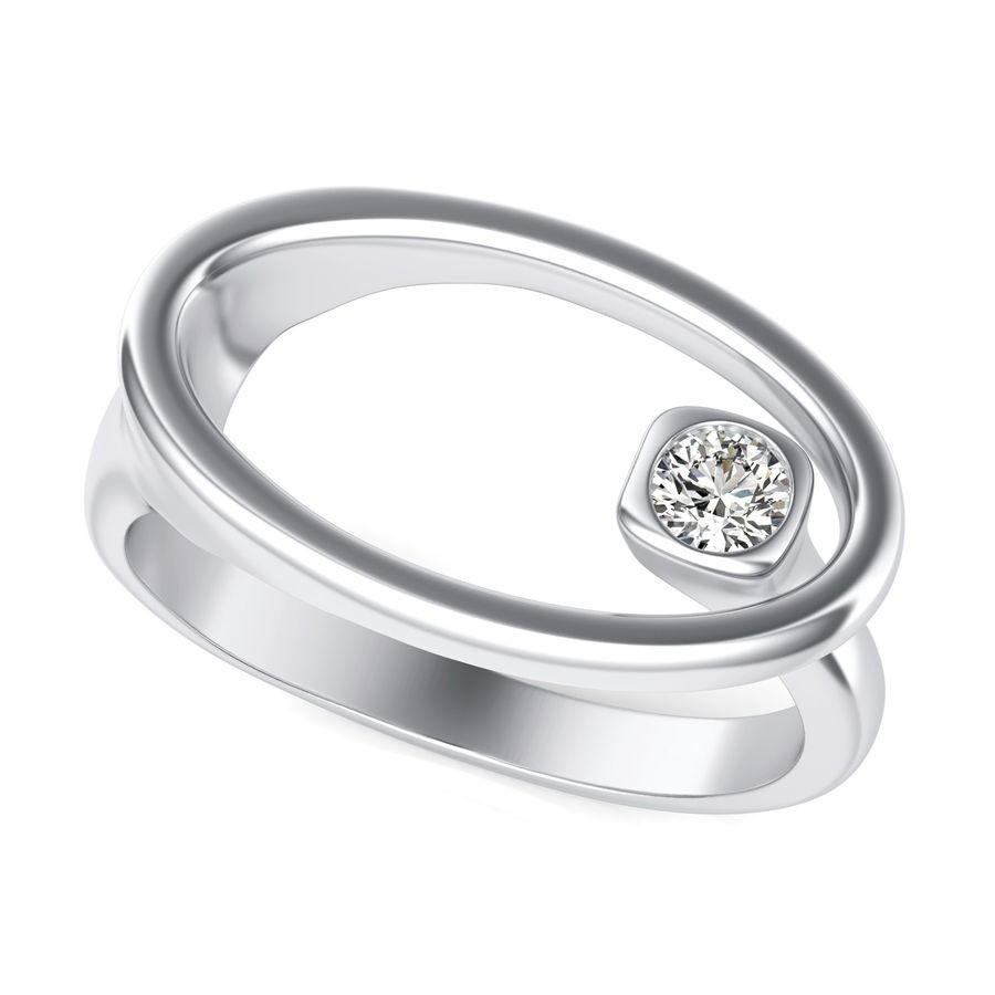 Oval Wrap Around Fashion Ring