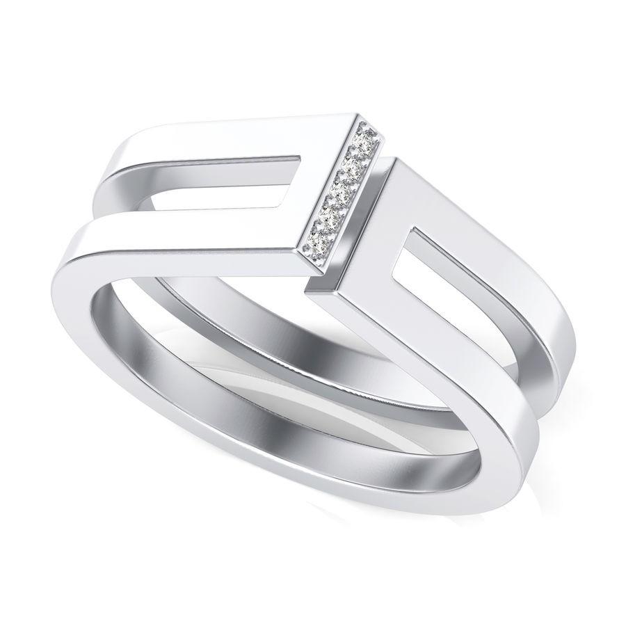 One Bar Fashion Ring