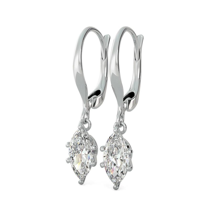 leverback wire earrings