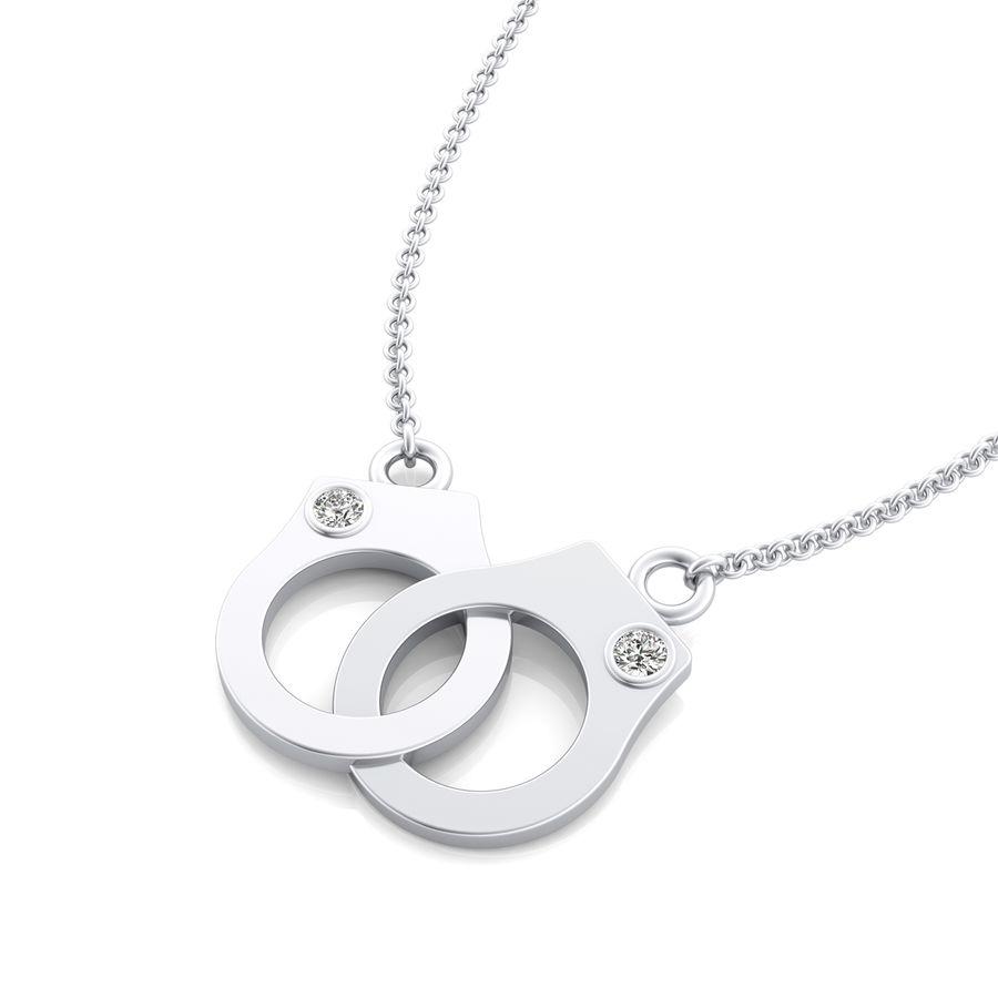 Handcuff pendant edwin novel jewelry design handcuff pendant aloadofball Image collections