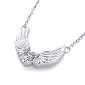 Angel Solitaire Pendant