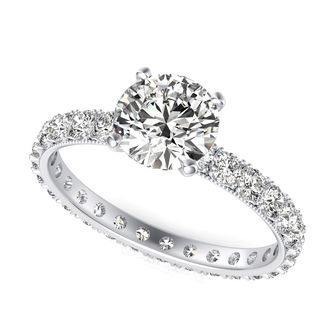 Eternity Engagement Ring
