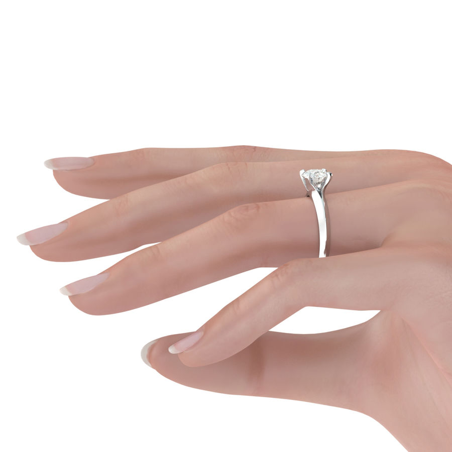 Knife Edge Solitaire Engagement Ring - Edwin Novel Jewelry Design