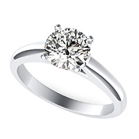Le Nora Solitaire Engagement Ring