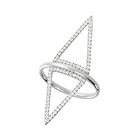 Triangle Skinny Ring