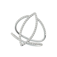 Marquise Skinny Ring